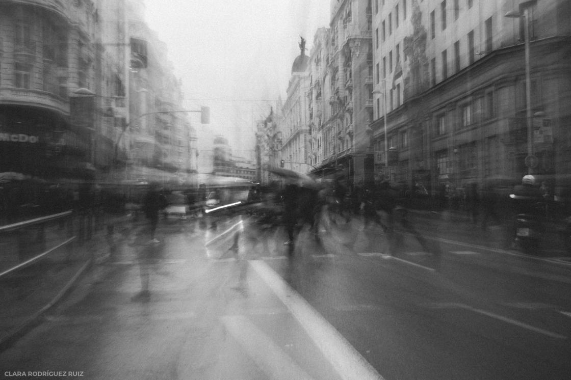 Día de lluvia en Madrid | 2017
