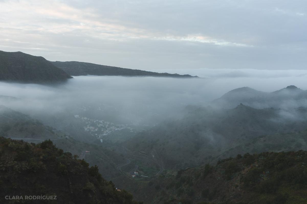 La niebla sobre LaGomera